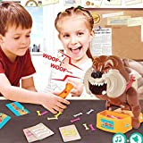 TurnRaise Funny Parent Child Games Beware Of The Dog Don't Wake The Dog Toys, Funny Electronic Pet Dog Toys Bad Dog Gnaw Bones(ABS) (Bad Dog) - TurnRaise - amazon.co.uk