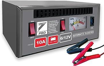 Auto7Caricatore di batteria 708.955 , 100% automatico, 10A 6/12V - per batterie da 10Ah a 100Ah