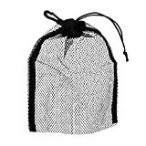 MagiDeal Drawstring Mesh Bag Storage Pouch for SCUBA Snorkeling Diving Gear Fins Mask Goggles Swimming Accessories