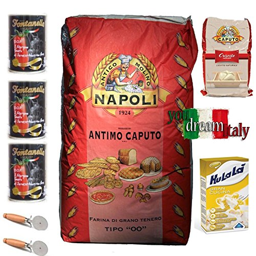 Kit Caputo Flour Red Reinforced with Criscito
