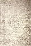 A2Z Rug Vintage Traditional Santorini Collection Beige 200x290 cm - 6.6x9.5 ft Area Rugs