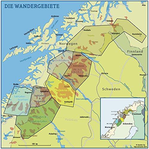Wanderwege Nordskandinavien: Über 200 Wanderrouten in der atemberaubenden Wildnis Nordschwedens & Nordnorwegens (Allgemeines Programm): Alle Infos bei Amazon