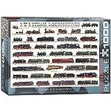 Eurographics Puzzle 1.000 Teile Dampflokomotiven 00090