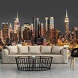 murando - Fototapete 300x210 cm - Vlies Tapete - Moderne Wanddeko - Design Tapete - Wandtapete - Wand Dekoration - Stadt City New York Manhattan Hochhaus Architektur d-B-0060-a-c