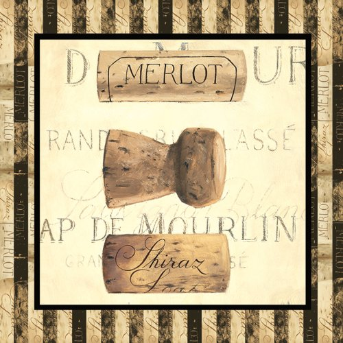 Paperproducts Design Design 1251103Getränk, Cocktail Serviette, 5durch 12,7cm, Wein Korken - Sonoma-cocktail