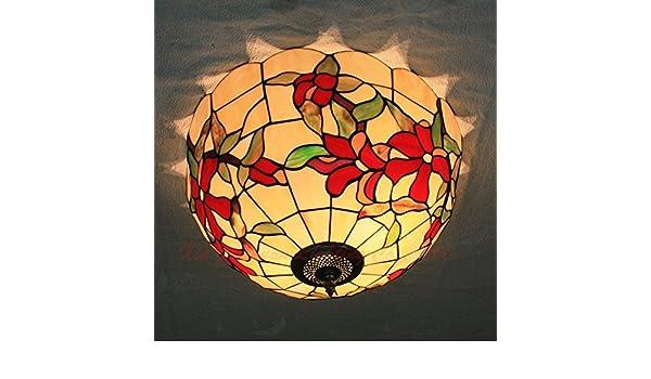 Lampadari E Plafoniere Tiffany : Vecchia plafoniera tiffany weian lampade in camera da letto o