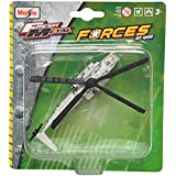 Maisto Mh-53J Pave Low III Aeroplane Die Cast Toy Helicopter (White & Grey)