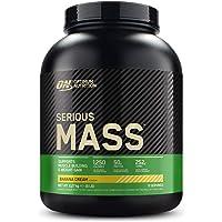 Optimum Nutrition ON Serious Mass Hochkalorisches Weight Gainer Protein Pulver, Whey Protein, Vitamine, Kreatin und…