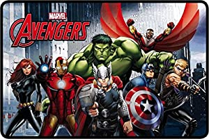 Star  Marvel Avengers - Felpudo (50 x 80 cm), diseño de Los Vengadores