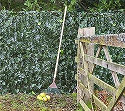 Artificial Ivy Leaf Screening Hedge 3m x 1m (9ft 10