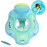 HONGCI Baby zwemring Baby Float zwemband met pomp, baby zwemring baby zwemhulp kinderen zwemring opblaasbare Life Boei zwemtr