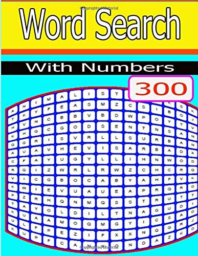 Word Search With Numbers: will find all of the hidden words and numbers, eventually. There are solutions por jaidee kan