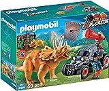 Playmobil Coche con Triceratops, multicolor (9434)