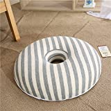M&X Donut Seat Cushion Kissen Memory-Schaum-konturiert & Premium Comfort Kissen für Hämorrhoiden,Prostata,Schwangerschaft,Post-Natal Ischias steißbein schmerzlinderung-B 41cm(16inch)