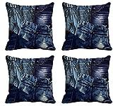 meSleep Jeans Cushion Cover (12x12)