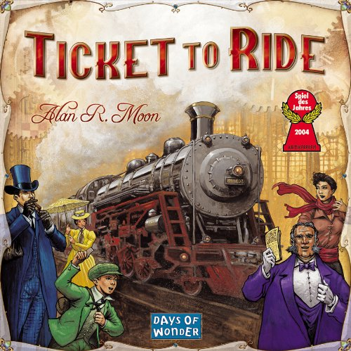 Preisvergleich Produktbild Ticket to Ride: The Cross-country Train Adventure Game!