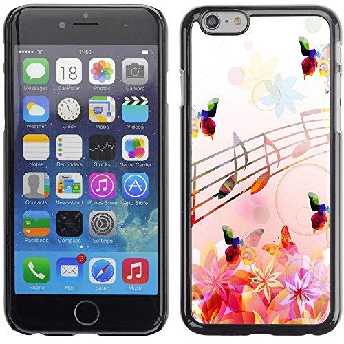 Graphic4You Bunt Schmetterling Schmetterlinge Muster Design Harte Hülle Case Tasche Schutzhülle für Apple iPhone 6 Plus / 6S Plus Design #12