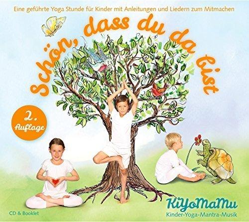 kiyomamu-cd-con-musica-yoga-per-bambini-schon-dass-du-da-bist-lingua-tedesca