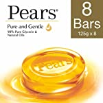 Pears Pure And Gentle Bathing Bar, 125g (Pack Of 8)