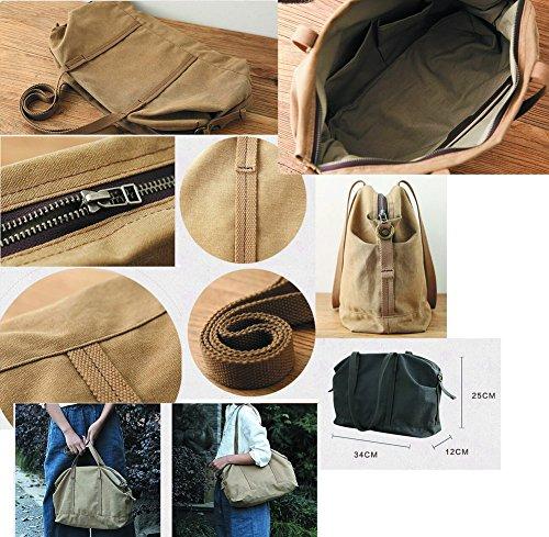 Leinentasche Einkaufstasche Umhängetasche Duffel Bag Reisetasche Mehrfarbig 13