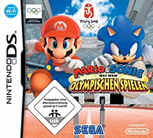 mario sonic bei den olympischen spielen nintendo ds games. Black Bedroom Furniture Sets. Home Design Ideas
