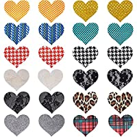 12 Pasties Nipple Cover Women Sexy Charming Heart Disposable Nipple Sticker Lingerie on Bra