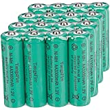16Pcs TangsFire AA 3300mAh 1.2V Rechargeable Ni-MH Battery Green