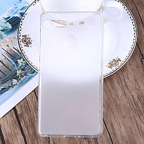 G-Hawk® Weich TPU Silikon Handyhülle Für Essential Phone PH-1, Super Dünne und Leichte Soft Case Rubber Silicone Skin Hülle (Transparent)