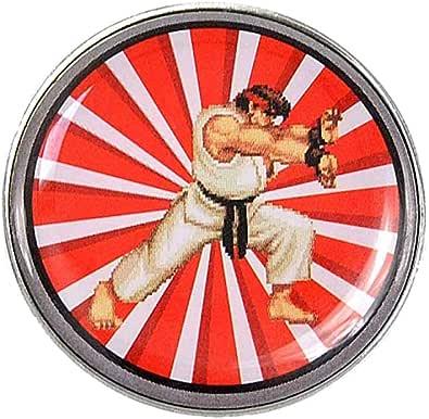 Pritties Accessories Genuine Capcom Street Fighter Ryu Badge Badge Badge