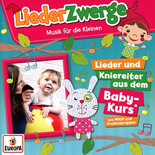 Liederzwerge-Lieder & Kniereiter aus dem Baby-Ku
