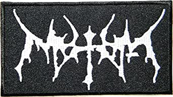 WATAIN Heavy Metal Rock Punk Music Band Logo Patch Sew Iron on Embroidered Appliques