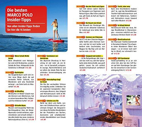 MARCO POLO Reiseführer Oberbayern: Reisen mit Insider-Tipps. Inklusive kostenloser Touren-App & Events&News - 5