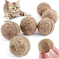 Edited 3 in 1 Essbar Katzenminze Katzenspielzeug Katze Zahnpflege Katzenminze Ball Bestehen zu 100% aus natürlichem Catnip Für Katzen Jeden Alters