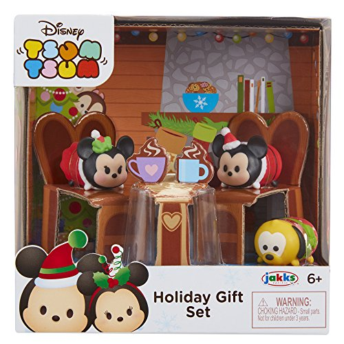 Tsum Tsum Mickey and Minnie - Set de Regalo de Navidad