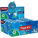 Tipp-Ex - Cinta correctora (10 unidades, 5 mm x 14 m, rellenable)