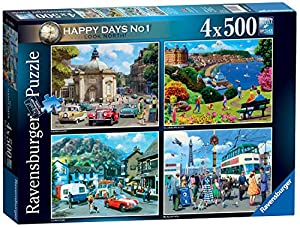 Rompecabezas Ravensburger 15032 Happy Days Collection No. 1 Look North 4 x 500 Piezas