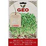 Geo VCB0503 Cavolo Broccolo Semi da Germoglio, Marrone