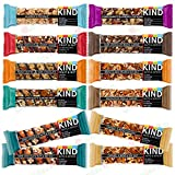 Kind Bars Gluten Free High Fibre Mixed Selection Variety Pack x 12