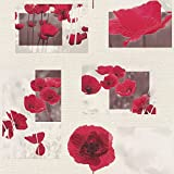 RT PapierTapete Kollektion Aqua Relief, mehrfarbig, 853308