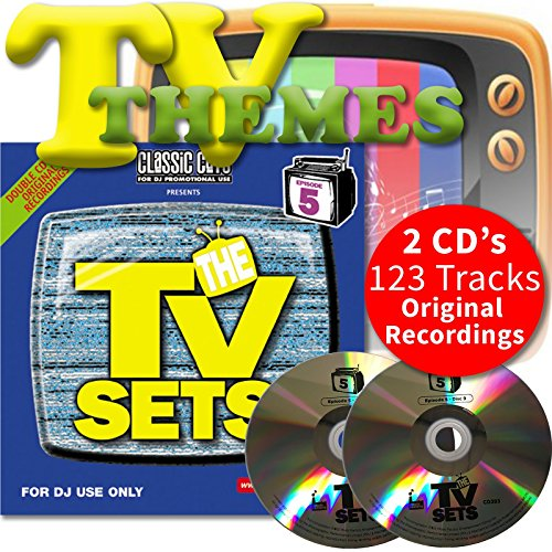 Classic Cuts Presents TV Sets Vol 9 & 10 Double CD - Themes From 70s 80s 90s & 00s