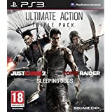 Ultimate Action Triple Pack - Just Cause 2/Sleeping Dogs/Tomb Raider (PS3) by Square Enix
