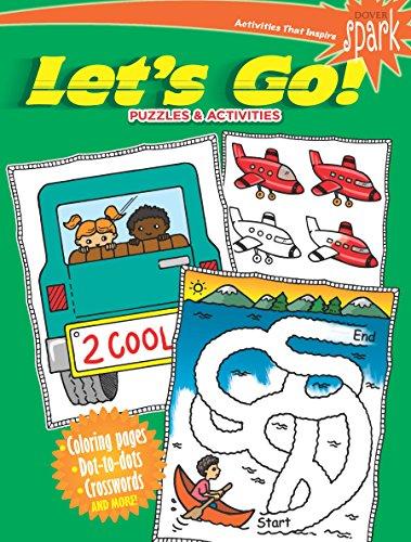 SPARK Let's Go! Puzzles & Activities (Dover Children's Activity Books) por Fran Newman-D'Amico