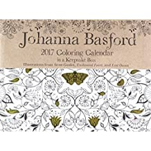 Johanna Basford 2017 Colouring Day To Calendar UK EXCLUSIVE By