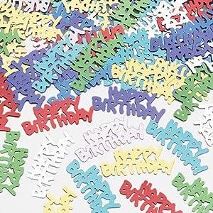 Gifts 4 All Occasions Limited SHATCHI-181 - Confeti de mesa (14 g), color dorado