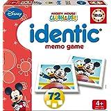 Juegos educativos Educa - Identic Mickey y Amigos, 72 cartas (15882)