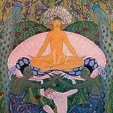 Artland Wandbilder selbstklebend aus Vliesstoff oder Vinyl-Folie George Barbier Arabische Nächte, 1922 Liebe & Erotik Frau Illustration Grün C4YM
