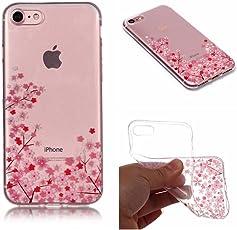 iPhone 8/7 Hülle,Ultra-Clear iPhone 8/7 Tasche Cover Silikon Soft TPU Premium Durchsichtig Handyhülle Schutzhülle Case Backcover Bumper Slimcase für iPhone 8/7 4.7'' - Transparent