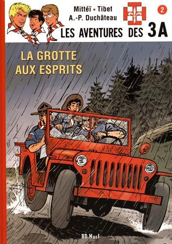 Les aventures des 3A, Tome 2 : La grotte aux esprits : Avec un ex-libris numéroté