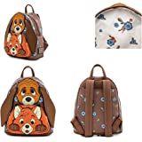 Loungefly Disney Fox and Hound Todd and Cooper Cosplay Womens Double Strap Shoulder Bag Purse