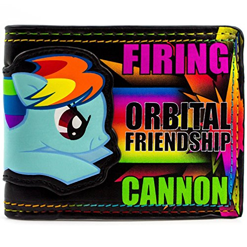 Hasbro My Little Pony Friendship Cannon Mehrfarbig Portemonnaie Geldbörse (Fluttershy Kostüm Für Kinder)